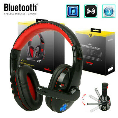 Trucker Driver Headset Bluetooth Wireless Universal PC Gaming Headphone With Mic