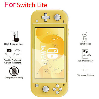 Genuine Tempered Glass Screen Protector Film Guard Skin For Switch Lite Lot