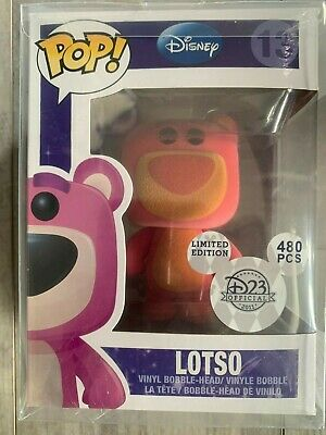 Funko Pop Flocked Lotso Disney 480 Pcs Toy Story WITH BOX  READ Description!!