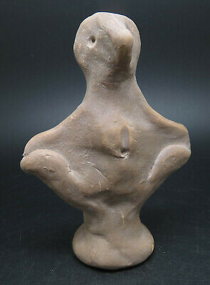 Ancient Terracotta Indus Valley Fertility Idol Godness Statue