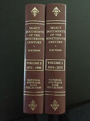Select Documents of the 19th Century National Australia Bank