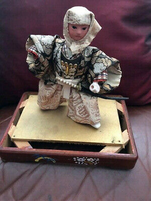 Vintage  Japanese Doll Samurai Warrior