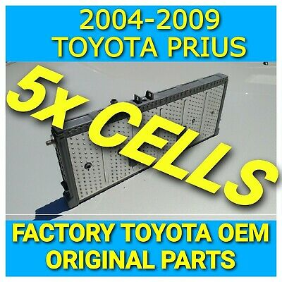 5x TOYOTA PRIUS HYBRID BATTERY CELL NIMH MODULE  2004 2005 2006 2007 2008 2009