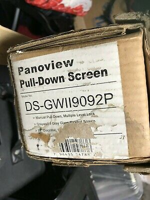 PANOVIEW pull down screen ds-gw119092p