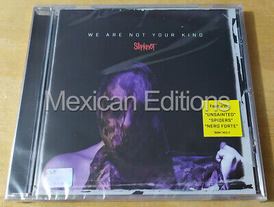 Slipknot We Are Not Your Kind Mexican Edition CD