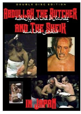 ABDULLAH THE BUTCHER DVD 2 Disk Set Baba Funk Japan The