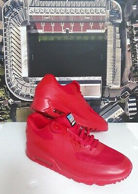 Nike Air MAX 90 Hyperfuse Red Independence Day Men Trainers UK Size 9 EU Size 44