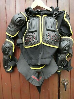 GP-PRO  Adult Motocross Upper Body Back Chest Protector Jacket  Size  M - L