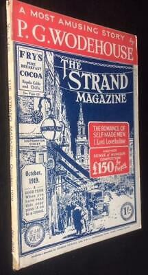 The Strand magazine single issue October 1919 P G Wodehouse , Britten Austin