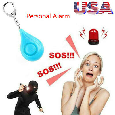 3 Pack Safe Personal Handy Alarm Self-defense Keychain Emergency Attack 130dB US