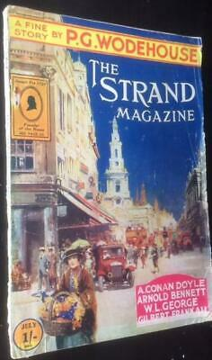 The Strand magazine July 1922 A Conan Doyle , P G Wodehouse