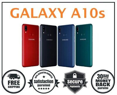 Samsung Galaxy A10s SM-107F/DS 32GB (Unlocked) Android Smartphone - 4 Colours