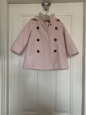 Next Girls 12 To 18 Months Pink Duffle Type Coat 12 - 18