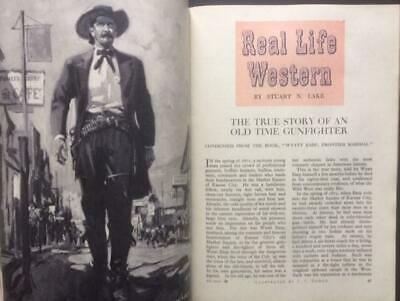 The Strand magazine 1949 Churchill , Wyatt Earp Doc Holiday Tombstone Cowboys