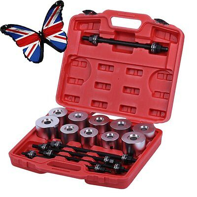 27Pcs Pull and Press Sleeve Tool Kit Set Seal Bearing Cars LCV Bush Removal B