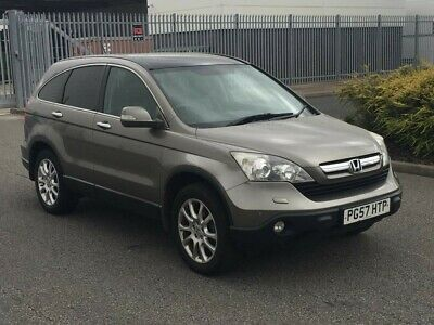 2008 57 Honda CRV EX 2.2 iCTDi EXECUTIVE DIESEL 4x4 -FULLY LOADED SATNAV+LEATHER
