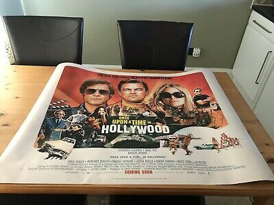 Once Upon A Time In Hollywood | Official Uk Cinema Quad Poster |