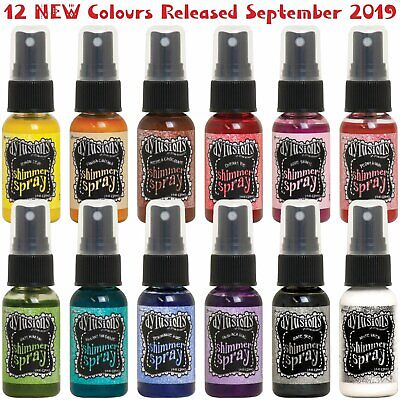 Dylusions Shimmer Spray - Set 2 - 12 Colours - NEW!