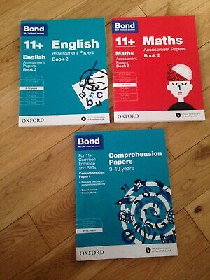 Bond 11 plus  books 9-10 years