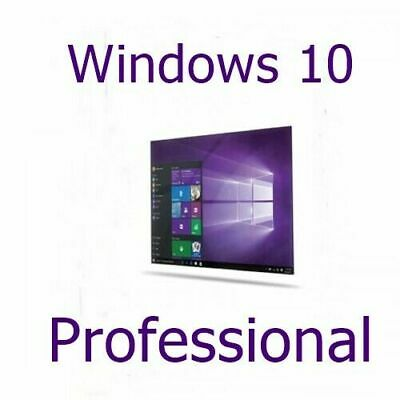 MS Win­dows 10 Professional DE 32/64 Bit Produktschlüssel Lizenz Key Vollversion