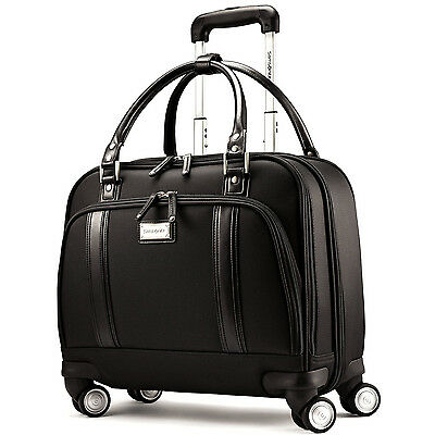"Samsonite Mobile Office 12.75""x16.5""x6"" Wheeled Upright - Black"
