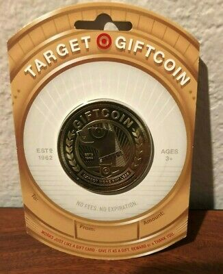 Five (5) Target Gold Coin Special Limited Edtion Gift Card Sold Out Htf
