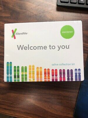 New 23andMe DNA Test Ancestry Personal Genetic Service PrePaid Expires 2021