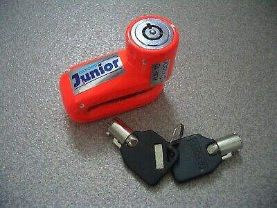 Oxford Junior Motorcycle Disc Lock With 2 Original Keys * Free Delivery UK *