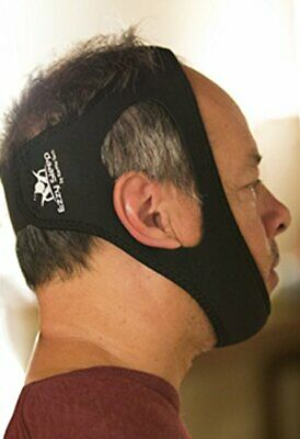 Adjustable Anti-Snore Chin Strap. Natural and Instant Snore Relief Device
