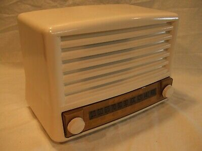 Fully Restored 1946 Admiral Model 6T01 Antique Vintage Tube Working AM Radio