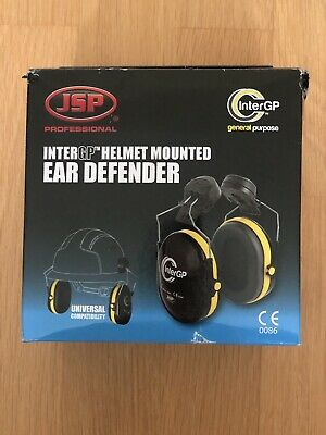 Jsp Professional Intergp Helmet Mounted Ear Defender Brand New
