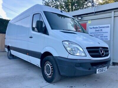 2009 Mercedes-Benz Sprinter 311 CDI LWB Panel Van - Part Exchange to Clear