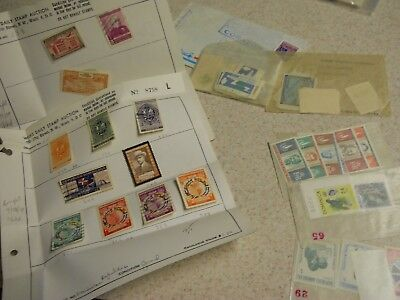 Large lot Over 120 vintage dominica postage Stamps