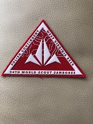 24th WORLD SCOUT JAMBOREE, USA 2019,  POLISH CONTINGENT PATCH