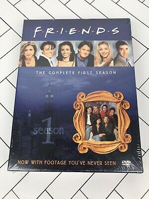 FRIENDS - THE COMPLETE FIRST SEASON (DVD, 2002, 4-Disc Set) BRAND NEW
