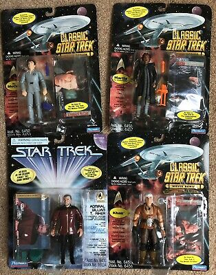 Playmates Classic Star Trek Movie Series Figures - Job Lot