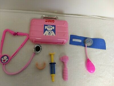 Fisher price Medical kit pink thermometer replacement part piece Pretend play