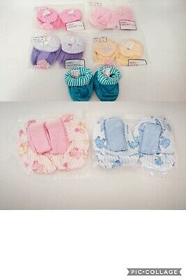 64 x Pairs Baby Socks Booties Slippers wholesale Job Lot mixed nappy cakes gifts