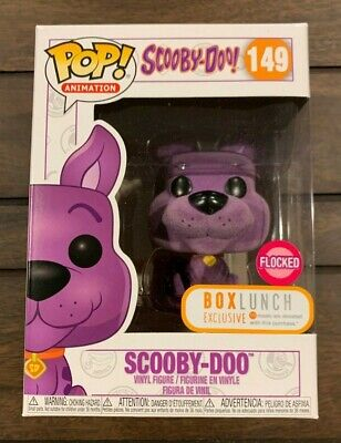Funko POP!  Scooby Doo: Purple Flocked Scooby  Box Lunch Exclusive 149 animation