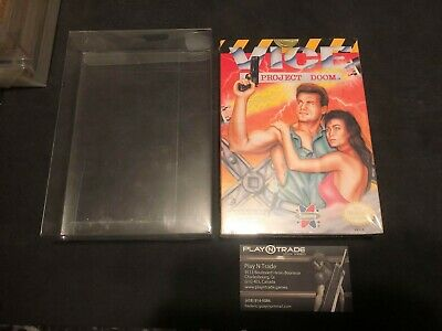 Vice: Project Doom (Nintendo Entertainment System, 1991) NES New  Sealed WOW!!!