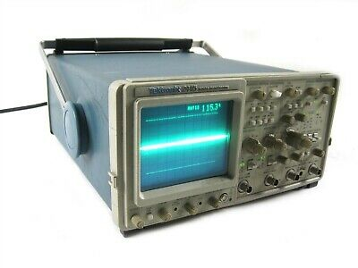 Tektronix 2445 Oscilloscope Four Channel Read Out Intensity Variable System