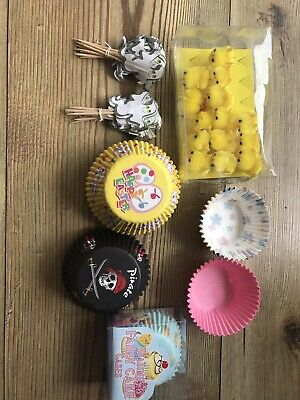 cupcake Cases and Decorations
