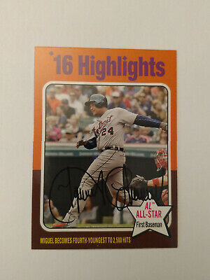 2019 Topps Archives 1975 High Number SP Highlights Miguel Cabrera 312