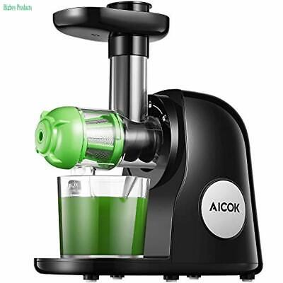 Juicer, Aicook Slow Masticating Juicer, Cold Press Juicer Machine Easy to | eBay