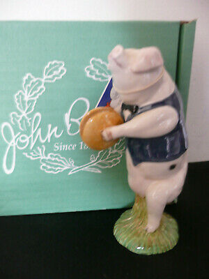 """Beswick Animal Figure """"Andrew"""" PP4 -*From the Pigs Promenade Collection* Symbols"""