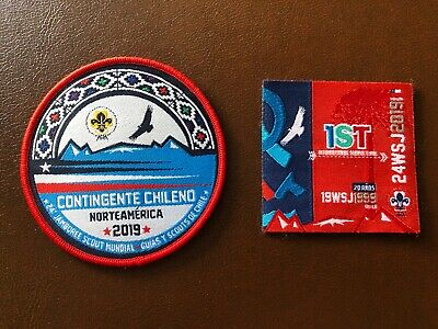 24th WORLD SCOUT JAMBOREE, USA 2019,  CHILE CONTINGENT AND IST PATCHES