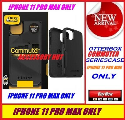 Otterbox Commuter Case for Apple Iphone 11 Pro Max ONLY Color: BLACK 77-62587