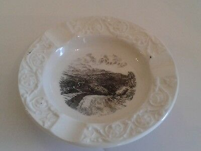 Vintage WEDGEWOOD Ashtray Shenadoah National Park Souvenir Skyline Drive England