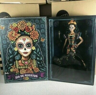 IN HAND!! BARBIE  Dia De Los Muertos - Day of The Dead Mexican Doll 2019 Mattel
