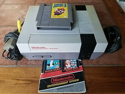 NES Nintendo entertainment system original 1985 NES-001 Made In Japan